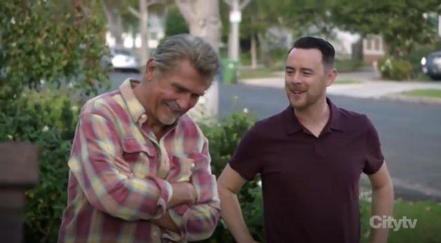 Rag & Bone Owen Polo Tee worn by Greg (Colin Hanks) in Life in Pieces Season 4 Episode 9