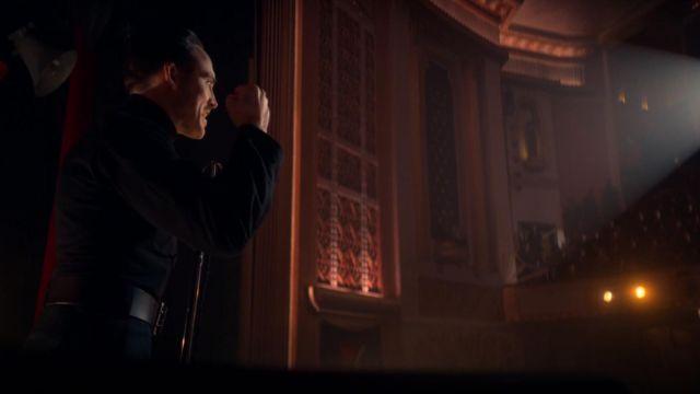 La ceinture noire de Oswald Mosley (Sam Claflin) dans Peaky Blinders (S05E06)