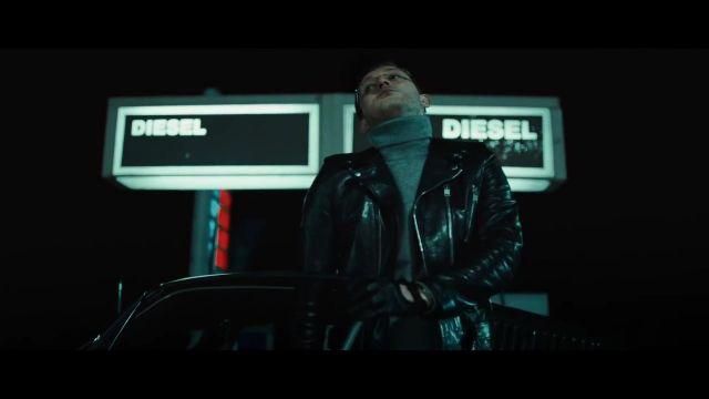 La veste en cuir noir de Vald dans le clip Vald - Journal Perso 2 (clip officiel)