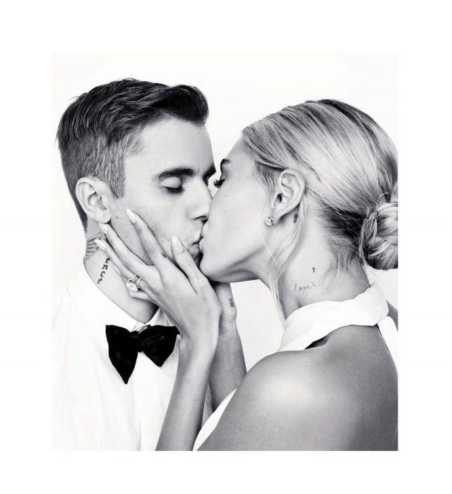 Tiffany & Co. Soleste Diamond V Ring worn by Hailey Baldwin Wedding to Justin Bieber September 30, 2019