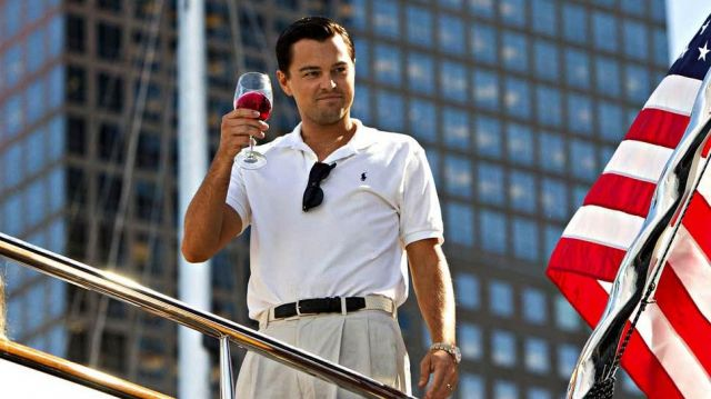 The pants clips worn by Jordan Belfort (Leonardo DiCaprio) in the movie The Wolf of Wall Street