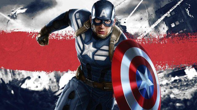 Fancy dress for children of Steve Rogers / Captain America (Chris Evans) in the Avengers: Endgame