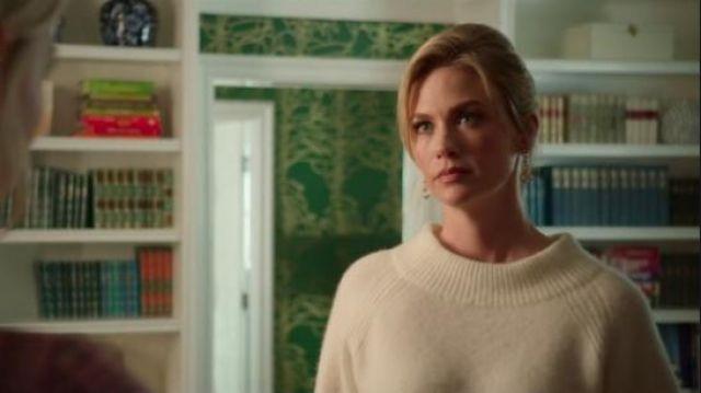 Gucci Gold Horsebit Earrings worn by Astrid's Mom (January Jones) in The Politician Season 1 Episode 7