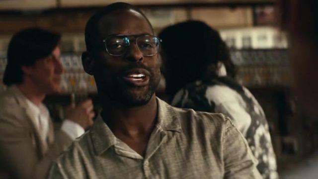 Les lunettes de vue de Sterling K. Brown dans The Rhythm Section