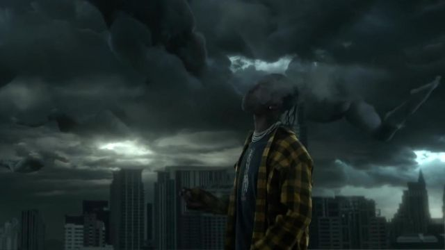 Yellow plaid shirt worn by Travis Scott in his Highest in the room music video