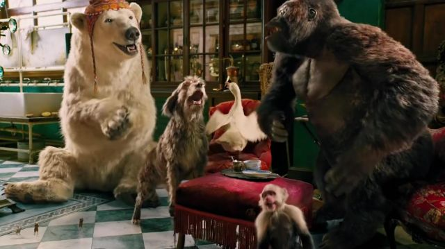 Le bonnet de l'ours polaire Yoshi (John Cena) dans Le Voyage du Dr Dolittle