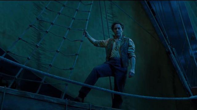 Le veston de Dr. John Dolittle (Robert Downey Jr.) dans Le Voyage du Dr Dolittle