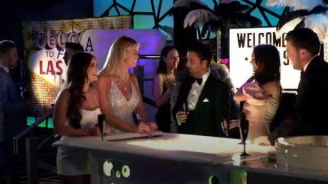 Oh Polly Stargazer Robe portée par Courtney Vert dans Le Seul Moyen Est d'Essex Saison 25 Episode 07