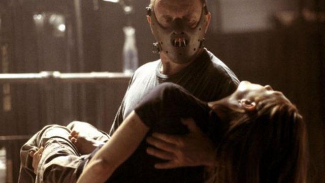 Le masque de Dr. Hannibal Lecter (Anthony Hopkins) dans Le Silence des Agneaux