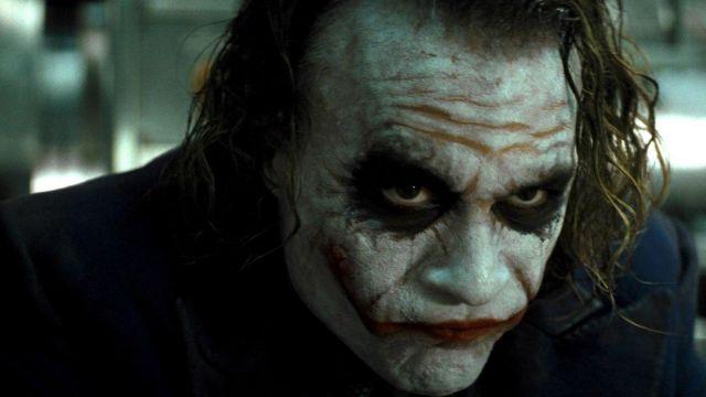 Masque du Joker (Heath Ledger) dans The Dark Knight Rises