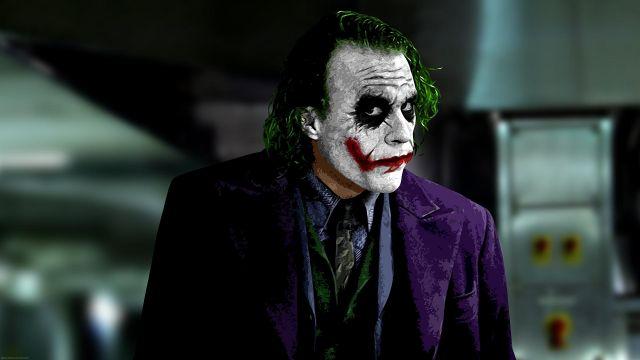 Batman Dark Knight Joker Costume Tie Joker (Heath Ledger) in The Dark Knight Rises