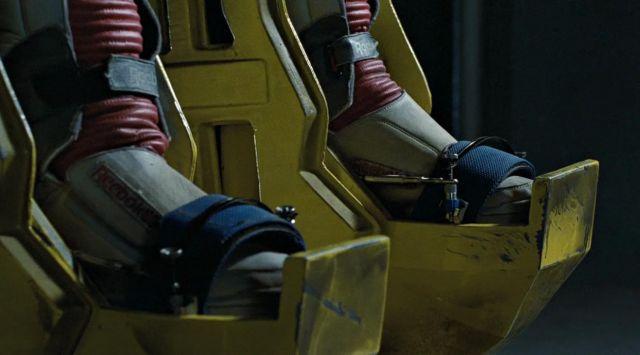 """Les chaussures Reebok """"Alien Stomper"""" de Ellen Ripley (Sigourney Weaver) dans Aliens, le retour"""