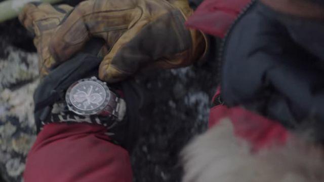 Seiko Montre porté par Overgård (Mads Mikkelsen) comme on le voit dans l'Arctique