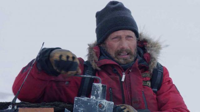 Gants en cuir portés par Overgård (Mads Mikkelsen) comme on le voit dans l'Arctique