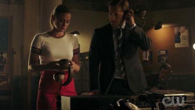 Pink Denim Mini Skirt worn by Betty Cooper (Lili Reinhart) in Riverdale Season 04 Episode 03