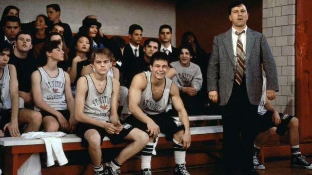 The white socks with black stripes of Jim Carroll (Leonardo DiCaprio) in The Basketball Diaries
