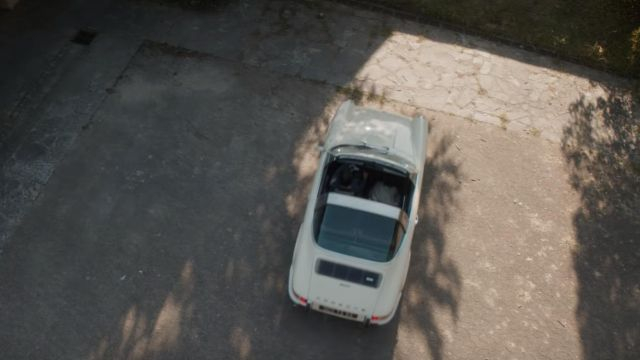 The car Porsche driving by Henri Mohen (Yvan Attal) in My dog stupid
