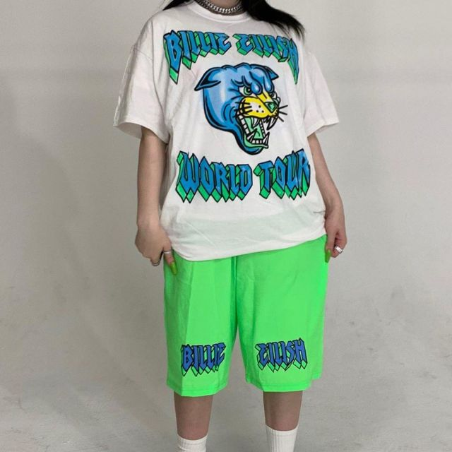 Billie Eilish Merch T Shirt Worn By Billie Eilish On Her Instagram Account Billieeilish Spotern
