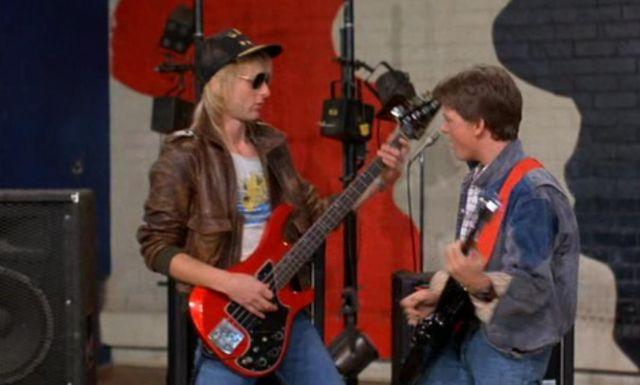 La basse Gibson Victory dans Retour vers le futur 1