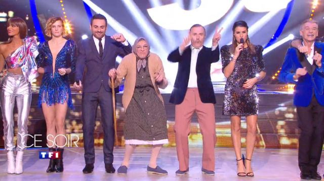 La robe à sequins de Karine Ferri dans Danse avec les Stars du 07/11/2019