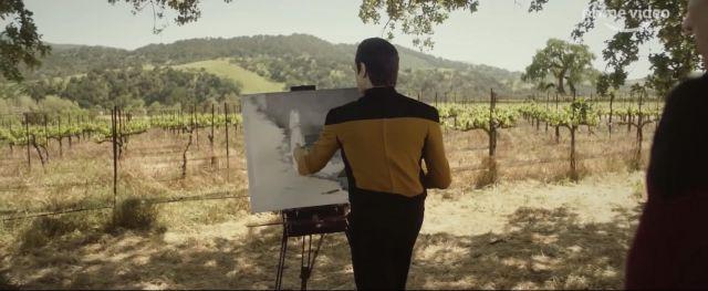 Le costume de Data porté par data Brent Spiner dans la série Star Trek : Picard