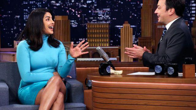 Tenue portée par Priyanka Chopra dans Le Tonight Show Starring Jimmy Fallon