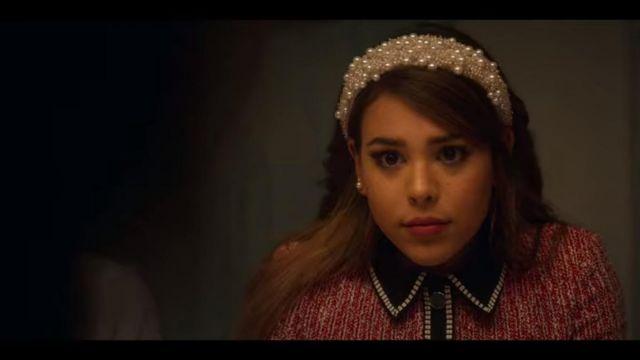 Diadème de perle de Lu (Danna Paola) dans Élite (S02E08)