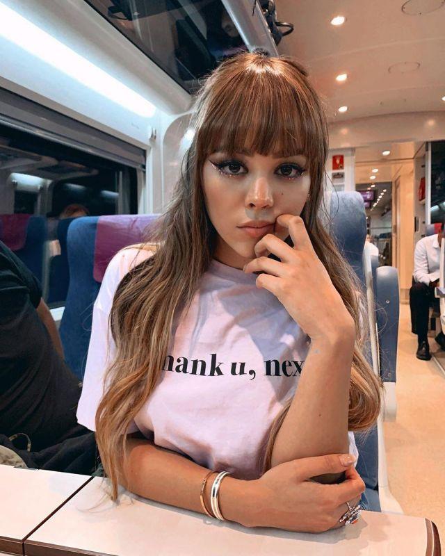 T-shirt de Danna Paola sur le compte Instagram de @dannapaola