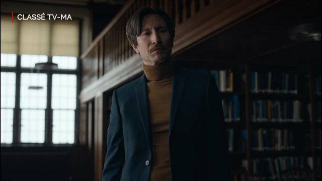 Blazer bleu de Professor Clive Koch (Jonathan Aris) dans The End of the F***ing World (S02E01)