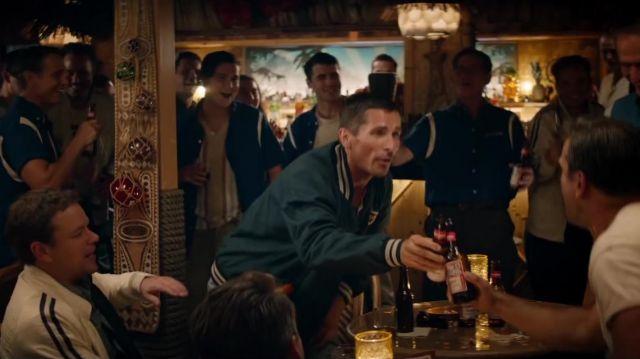 La Bière Budweiser bu par Ken Miles (Christian Bale) en Ford / Ferrari