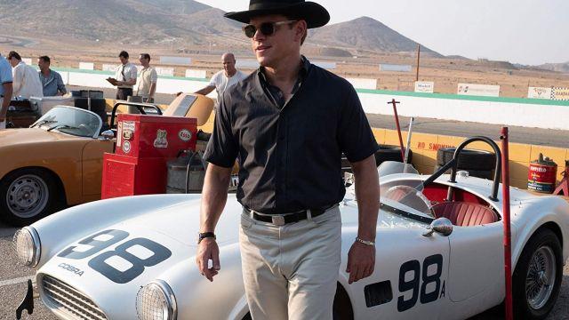 AC Cobra 378 of Carroll Shelby (Matt Damon) in Ford v Ferrari