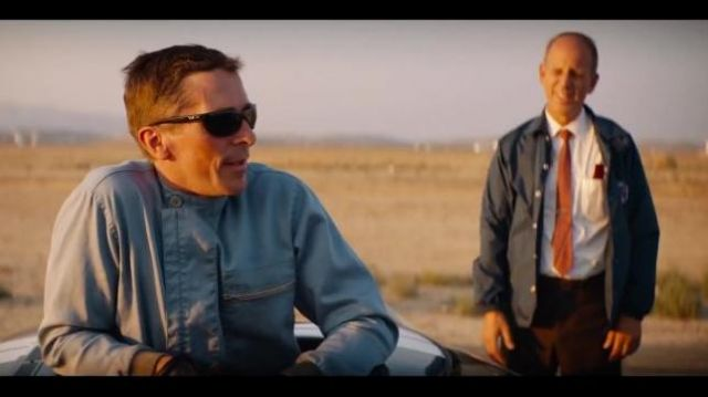 Blue Zip Front Coverall Speed Suit worn by Ken Miles (Christian Bale) in Ford v Ferrari