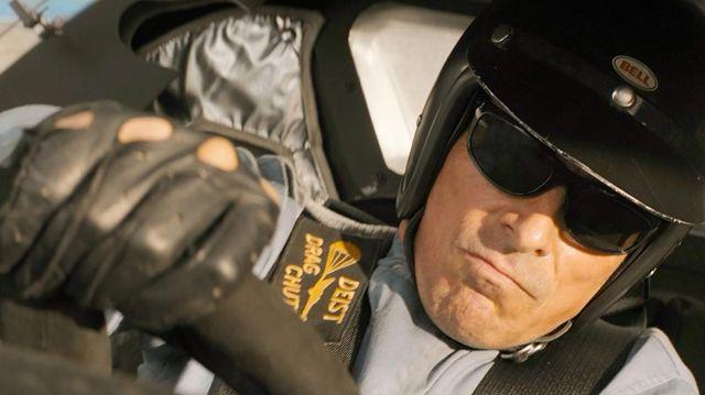 Ray-Ban Balorama Sunglasses worn by Ken Miles (Christian Bale) as seen in Ford v Ferrari