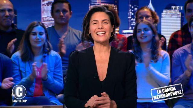 La Robe Longue à Col v de Alessandra Sublet dans Mask Singer