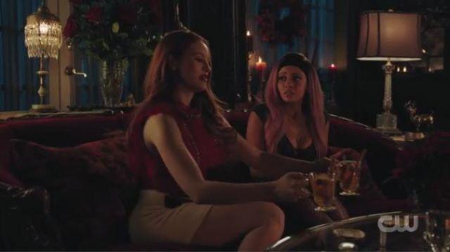 Black Bodysuit worn by Toni Topaz (Vanessa Morgan) in Riverdale Season 4 Episode 7