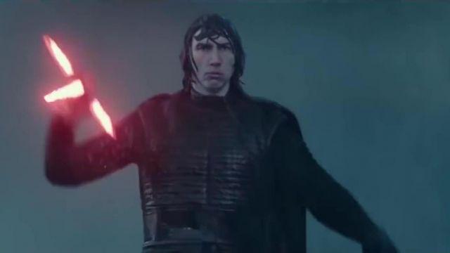 Star Wars Black Costume worn by Adam Driver in Star Wars : The Rise of Skywalker