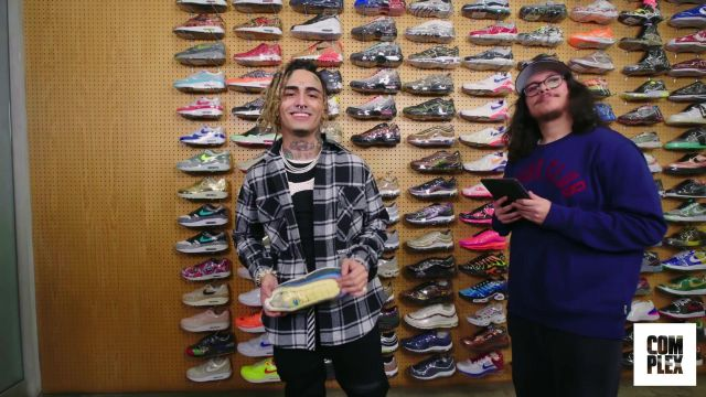Lil Pump Goes Sneaker Shopping