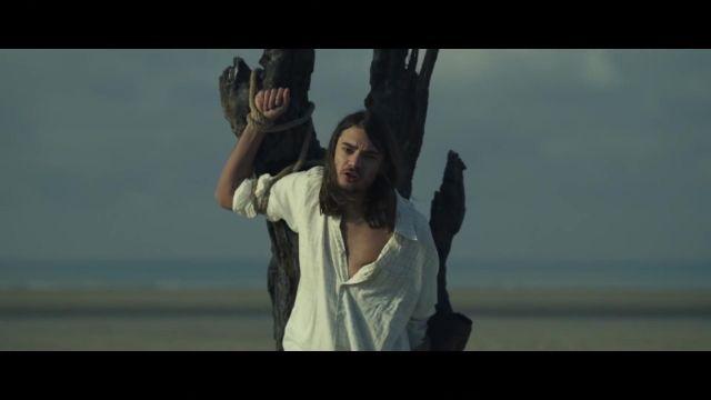 Plaid shirt worn by Lujipeka in her video clip - Ahou