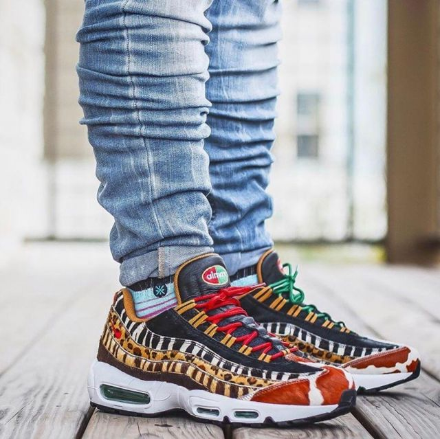 Air Max 95 Atmos Animal Pack 2.0 on the account Instagram of