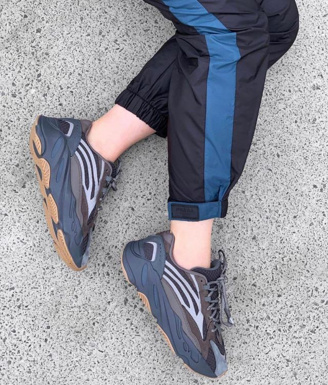 Adidas Yeezy Boost 700 V2 Geode account on the Instagram of