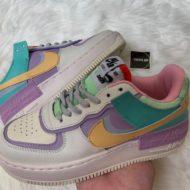 nike air force 1 shadow ivoire pale femme