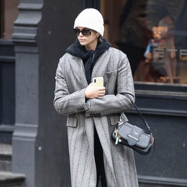Apple AirPods with Charging Case used by Kaia Jordan Gerber New York City December 13, 2019