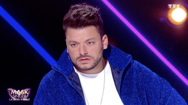 La veste bleue portée par Kev Adams dans l'émission Mask Singer