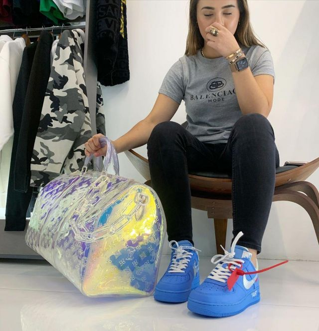 Air Force 1 Low Off White Mca University Blue Account On The Instagram Of Greed101store Spotern