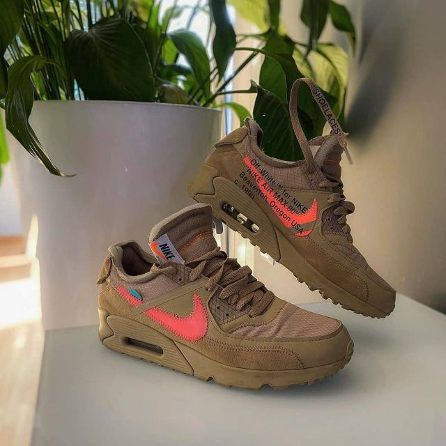 Air Max 90 Off White Desert Ore On The Account Instagram Of