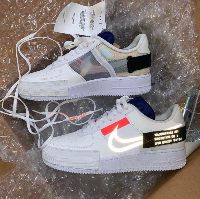 nike air force one porté par air force one sur le compte