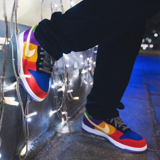 Nike Dunk Low Viotech (2019) on the account Instagram of