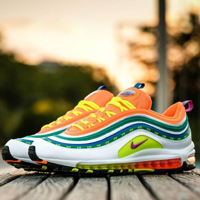 Sneakers Nike Air Max 97 London Summer of love by Nicolas