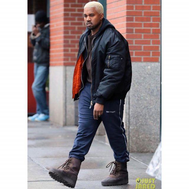 Adidas Yeezy Boost 950 Chocolate Kanye West account on the
