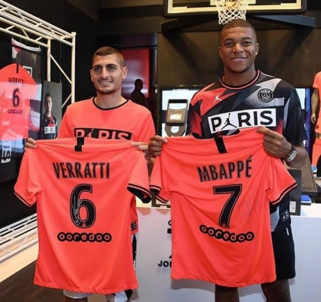 intersport maillot homme psg third 19 20 nike